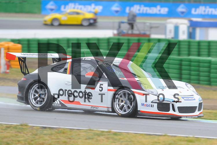 # 5 Ralf Bohn (DEU) vom Herberth Motorsport  beim Porsche Carerra Cup Deutschland auf dem Hockenheimring.<br /> <br /> Foto &copy; P-I-X.org *** Foto ist honorarpflichtig! *** Auf Anfrage in hoeherer Qualitaet/Aufloesung. Belegexemplar erbeten. Veroeffentlichung ausschliesslich fuer journalistisch-publizistische Zwecke. For editorial use only.