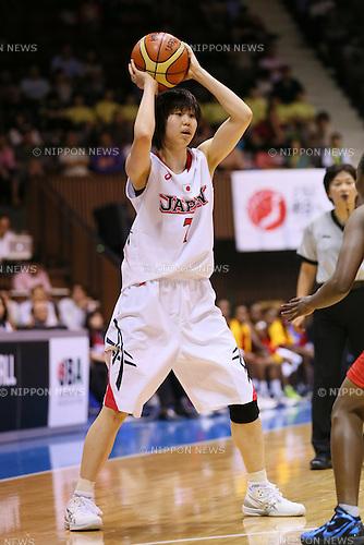 Chika Sakuragi (JPN), <br /> JUNE 30, 2013 - Basketball : <br /> International Basketball Japan Games 2013 <br /> between Japan Women's 78-61 Mozambique Women's <br /> at 2nd Yoyogi Gymnasium, Tokyo, Japan. <br /> (Photo by YUTAKA/AFLO SPORT)