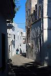 Traditional whitewashed buildings in Vejer de la Frontera, Cadiz Province, Spain