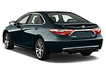 Car pictures of rear three quarter view of a 2015 Toyota Camry Se 4 Door Sedan angular rear