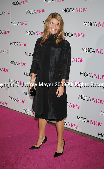 LOS ANGELES, CA. - November 14: Actress Lori Loughlin arrives at the MOCA NEW 30th anniversary gala held at MOCA on November 14, 2009 in Los Angeles, California.