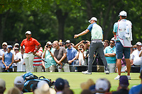 Jordan Spieth (USA) barely misses his putt on 2 during round 4 of the 2019 Charles Schwab Challenge, Colonial Country Club, Ft. Worth, Texas,  USA. 5/26/2019.<br /> Picture: Golffile | Ken Murray<br /> <br /> All photo usage must carry mandatory copyright credit (© Golffile | Ken Murray)