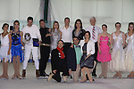 All Children's Rebecca Budig and Douglas Webster (artistic director) are hosts and also skated pose with competetors Jonathan Hunt and his partner actress Sean Young, Moira North (founder/director) at Ice Theatre of New York's Celeb Skate 2013 on June 9, 2013 at the Sky Rink at Chelsea Piers, New York City, New York. (Photo by Sue Coflin/Max Photos)