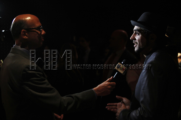 Richie Ridge & Bobby Cannavale.attending the Broadway Opening Night Performance After Party for 'The Mother F**ker with the Hat'  in New York City.