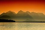 Sunrise in Tres Valles, Argentina