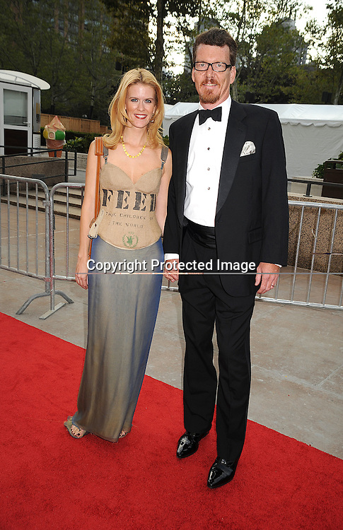 Alex McCord and husband Simon van Kempen.arriving at The opening night of the Metropolitan Opera  on September 22, 2008 at The Metropolitan Opera House in New York City. ..Robin Platzer, Twin Images