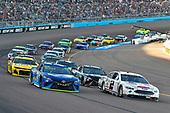 #78: Martin Truex Jr., Furniture Row Racing, Toyota Camry Auto-Owners Insurance and #2: Brad Keselowski, Team Penske, Ford Fusion Miller Lite