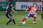 Atletico de Madrid´s Bea Beltran during UEFA Women´s Champions League soccer match between Atletico de Madrid and Olympique Lyonnais, in Madrid, Spain. November 11, 2015. (ALTERPHOTOS/Victor Blanco)