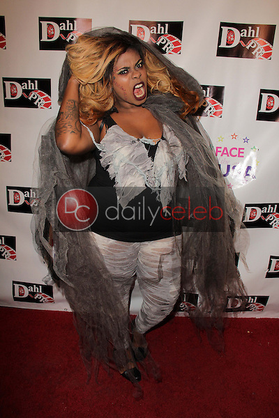 Anikai Phillips<br /> at the Monster Man Costume Ball, Cabo Wabo, Hollywood, CA 10-16-13<br /> David Edwards/Dailyceleb.com 818-249-4998