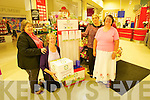 Tesco community Fund Programme - Adapt has been chosen as one of the 3 charities Pictured Marion Hogan, Board Member , Eileen Kelliher, Board MemberCaroline Britton, Store Manager, Tesco Manor, Tralee and Annamarie Foley, General Manager, Adapt Kerry Women's Refuge, Tralee