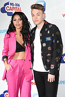 Vick Hope and Roman Kemp<br /> at the Capital Summertime Ball 2017, Wembley Stadium, London. <br /> <br /> <br /> &copy;Ash Knotek  D3278  10/06/2017