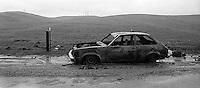 Old car, Dougherty Rd, 1987. &#xA;<br />