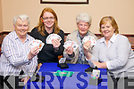 Pictured at Tralee Bridge Club on Tuesday evening, from left: Peggy Hegarty, Trish Stack, Kathleen Fitzgerald and Pat Fitzgibbon..