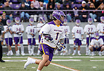 UAlbany Men's Lacrosse defeats Stony Brook on March 31 at Casey Stadium.Tehoka Nanticoke (#1).