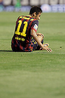 FC Barcelona's Neymar Santos Jr during La Liga match.September 1,2013. (ALTERPHOTOS/Acero) <br /> Football Calcio 2013/2014<br /> La Liga Spagna<br /> Foto Alterphotos / Insidefoto <br /> ITALY ONLY
