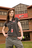 Virgin Media Apprentice Frances Clark, 21 of Nottingham
