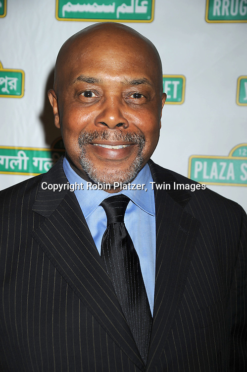 Roscoe Orman who plays Gordon on Sesame Street