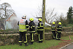 Castlebellingham House Fire, Annagassan Road Jan 2012