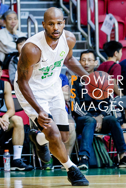 Austin Bryant M #23 of Tycoon Basketball Team dribbles the ball up court during the Hong Kong Basketball League game between Tycoon vs Eagle at Southorn Stadium on May 11, 2018 in Hong Kong. Photo by Yu Chun Christopher Wong / Power Sport Images