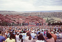 Grateful Dead at Red Rocks Amphitheater, Morrison, CO on the 12th of August 1979