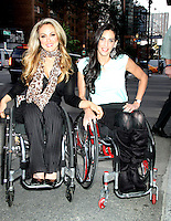 June 05, 2012: Tiphany Adams and Mia Schalkewitz at PIX11 Morning News in New York City to tdiscuss their new Sundance Channel docu-series 'Push Girls'. © RW/MediaPunch Inc. ***NO GERMANY***NO AUSTRIA***
