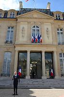 Jean Marc Ayrault ( Premier Ministre ) .Parigi 22/8/2012.Consiglio dei Ministri.Foto Insidefoto / Christian Liewig / FEP / Panoramic.ITALY ONLY