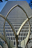 Embarcadero Center, San Francisco, CA, Concrete Detail, Close Up