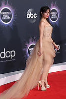 LOS ANGELES - NOV 24:  Camila Cabello at the 47th American Music Awards - Arrivals at Microsoft Theater on November 24, 2019 in Los Angeles, CA