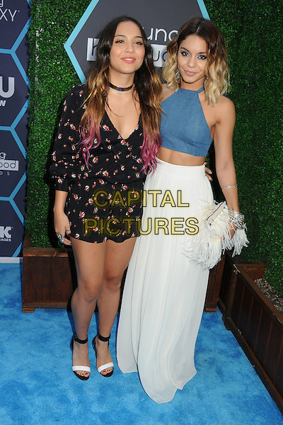 27 July 2014 - Los Angeles, California - Stella Hudgens, Vanessa Hudgens. 16th Annual Young Hollywood Awards held at the Wiltern Theatre. <br /> CAP/ADM/BP<br /> &copy;Byron Purvis/AdMedia/Capital Pictures