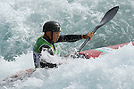 Kazuki Yazawa (JPN),<br /> AUGUST 7, 2016 - Canoe Slalom : <br /> Men's Kayak Heat<br /> at Whitewater Stadium <br /> during the Rio 2016 Olympic Games in Rio de Janeiro, Brazil. <br /> (Photo by Koji Aoki/AFLO SPORT)
