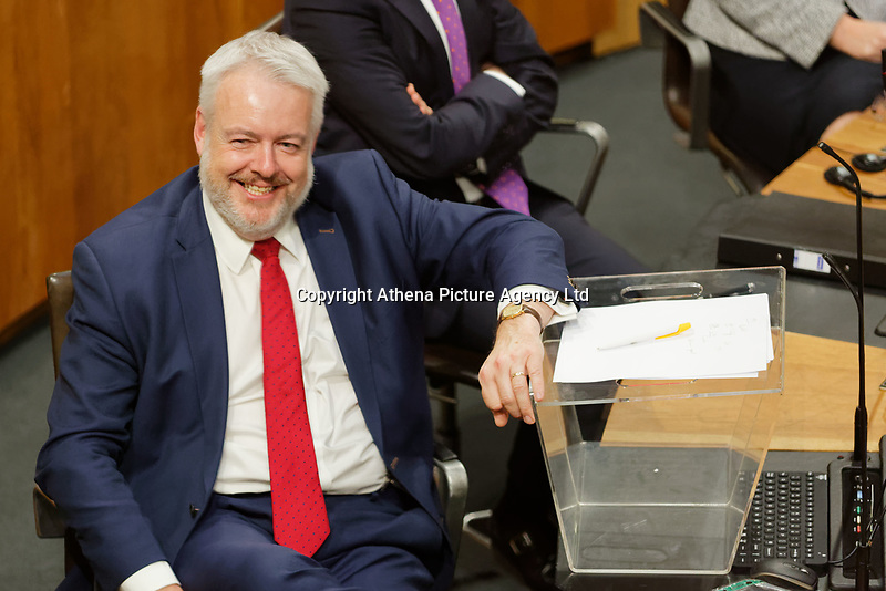 Pictured: First Minister for Wales Carwyn Jones . Tuesday 11 December 2018<br />