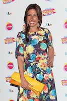 Gaynor Faye arriving at for Lorraine's High Street Fashion Awards 2014, at Vinopolis, London. 21/05/2014 Picture by: Alexandra Glen / Featureflash