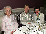 Sr. Leontia, Sr. Eleanor and Claire Murray at Canon Patsy McDonnell's function to celebrate his 60 years in the priesthood in The Westcourt hotel. Photo:Colin Bell/pressphotos.ie