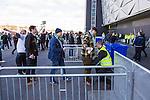 Solna 2014-03-16 Bandy SM-final herrar Sandvikens AIK - V&auml;ster&aring;s SK :  <br /> V&auml;ster&aring;s visiteras i k&ouml;n till Friends Arena<br /> (Foto: Kenta J&ouml;nsson) Nyckelord:  SM SM-final final herr herrar VSK V&auml;ster&aring;s SAIK Sandviken supporter fans publik supporters