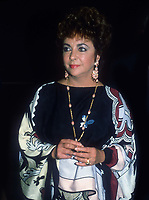 Elizabeth Taylor 1977<br /> Photo By John Barrett/PHOTOlink
