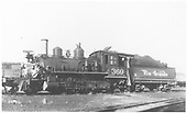 3/4 fireman's-side view of D&amp;RGW #360 in yard, probably at Gunnison.<br /> D&amp;RGW