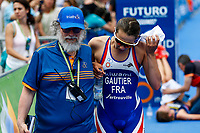 Mathilde Gautier of France during the 2017 Madrid ITU Triathlon World Cup in Madrid, May 28, 2017. Spain.. (ALTERPHOTOS/Rodrigo Jimenez) /NortePhoto.com