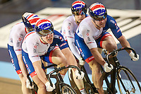 Picture by Alex Whitehead/SWpix.com - 05/03/2017 - Cycling - UCI Para-cycling Track World Championships - Velo Sports Center, Los Angeles, USA - Great Britain's James Ball (piloted by Matt Rotherham) defeat Neil Fachie (piloted by Craig Maclean) in the Men's Sprint final.