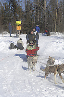 Peter Bartlett Anchorage Start Iditarod 2008.