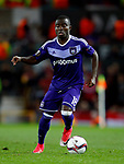 Frank Acheampong of Anderlecht during the UEFA Europa League Quarter Final 2nd Leg match at Old Trafford, Manchester. Picture date: April 20th, 2017. Pic credit should read: Matt McNulty/Sportimage