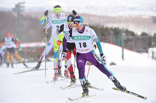 Taihei Kato (JPN),<br /> JANUARY 24, 2015 - Nordic Combined :<br /> FIS Nordic Combined World Cup Individual Gundersen LH HS134/10.0km in Sapporo, Hokkaido, Japan. (Photo by Hitoshi Mochizuki/AFLO)