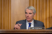 United States Senator Rob Portman (Republican of Ohio) speaks during the testimony of David Hale, Under Secretary of State for Political Affairs, and Christopher Ford, Assistant Secretary for International Security and Nonproliferation before the United States Senate Committee on Foreign Relations at the U.S. Capitol in Washington D.C., U.S., on Tuesday, December 3, 2019.<br /> <br /> Credit: Stefani Reynolds / CNP