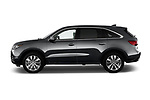 Car driver side profile view of a 2014-2016 Acura MDX Technology 5 Door SUV