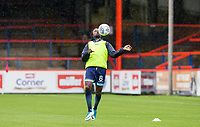 Marcus Bean of Wycombe Wanderers warms up ahead of the pre season friendly match between Aldershot Town and Wycombe Wanderers at the EBB Stadium, Aldershot, England on 22 July 2017. Photo by Andy Rowland.