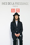 Fashion model Louis Kurihara poses for the cameras during a media event for Uniqlo x Ines de La Fressange AW17 collection, on September 5, 2017, Tokyo, Japan. Japanese casual clothing chain Uniqlo and French fashion icon Ines de la Fressange are collaborating with a Fall/Winter 2017 collection which is being sold in selected Uniqlo stores from September 1st. (Photo by Rodrigo Reyes Marin/AFLO)