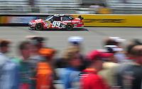 May 2, 2008; Richmond, VA, USA; NASCAR Sprint Cup Series driver Carl Edwards during practice for the Dan Lowry 400 at the Richmond International Raceway. Mandatory Credit: Mark J. Rebilas-