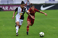 Maria Alves (Juventus) And Elisa Bartoli (Roma)<br /> <br /> <br /> Roma 24/11/2019 Stadio Tre Fontane <br /> Football Women Serie A 2019/2020<br /> AS Roma - Juventus <br /> Photo Andrea Staccioli / Insidefoto
