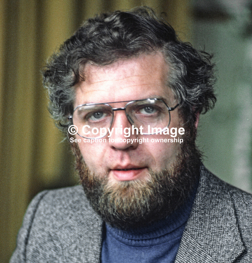 James McGarvey, Coalisland, Co Tyrone, member, executive, SDLP, political party, N Ireland, 197811000278JMG.<br /> <br /> Copyright Image from Victor Patterson,<br /> 54 Dorchester Park, <br /> Belfast, UK, BT9 6RJ<br /> <br /> t1: +44 28 9066 1296 (from Rep of Ireland 048 9066 1296)<br /> t2: +44 28 9002 2446 (from Rep of Ireland 048 9002 2446)<br /> <br /> m: +44 7802 353836<br /> <br /> e: victorpatterson@me.com<br /> www.victorpatterson.com<br /> <br /> Please see my Terms and Conditions of Use at www.victorpatterson.com. It is IMPORTANT that you familiarise yourself with them.<br /> <br /> Images used on the Internet must be visibly watermarked i.e. &copy; Victor Patterson<br /> within the body of the image and copyright metadata must not be deleted. Images <br /> used on the Internet have a size restriction of 4kbs and will be chargeable at current<br />  NUJ rates unless agreed otherwise.<br /> <br /> This image is only available for the use of the download recipient i.e. television station, newspaper, magazine, book publisher, etc, and must not be passed on to any third <br /> party. It is also downloaded on condition that each and every usage is notified within 7 days to victorpatterson@me.com<br /> <br /> The right of Victor Patterson to be identified as the author is asserted in accordance with The Copyright Designs And Patents Act (1988). All moral rights are asserted.