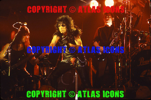 ALICE COOPER, LIVE, 1987 AND 1988, NEIL ZLOZOWER
