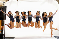Berkeley, CA - November 11, 2016: The 2016-2017 Cal Women's Gymnastics Team portraits.